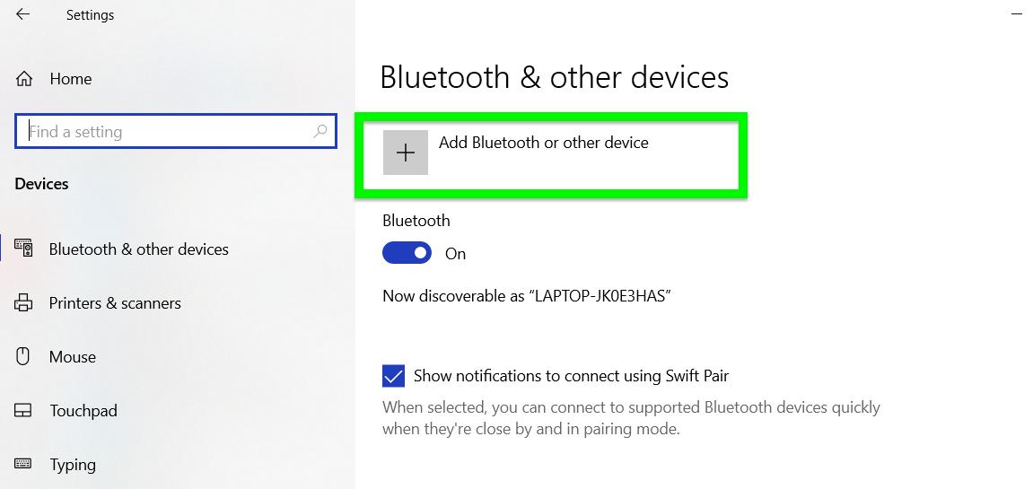 Cara mengaktifkan Bluetooth untuk Windows 10
