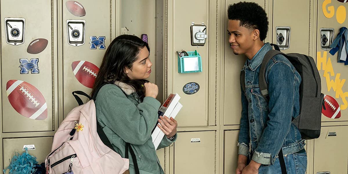 Auli'i Cravalho and Rhenzy Feliz in All Together Now
