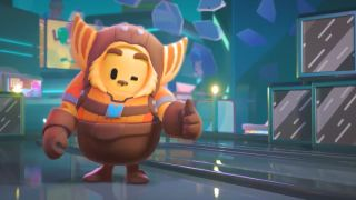 Fall Guys Ratchet and Clank event