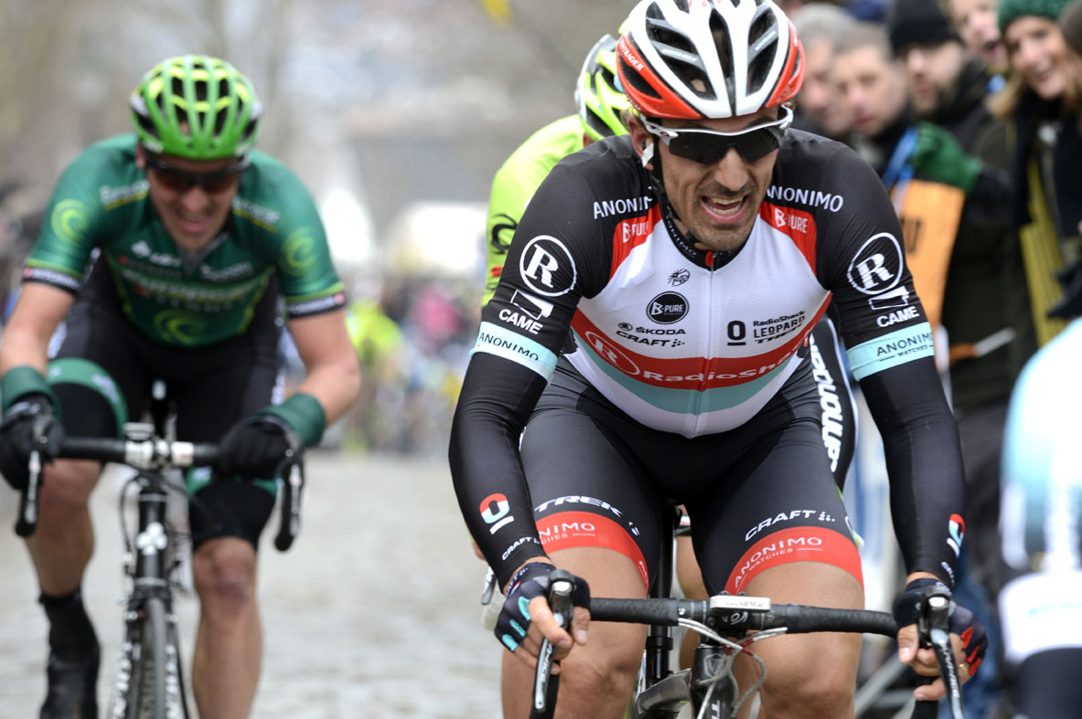 Fabian Cancellara attacks, Tour of Flanders 2013