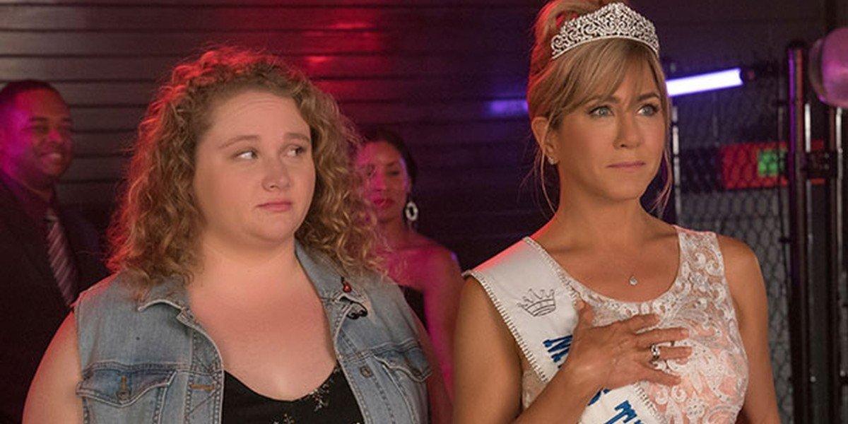 Jennifer Aniston and  Danielle Macdonald in Dumplin