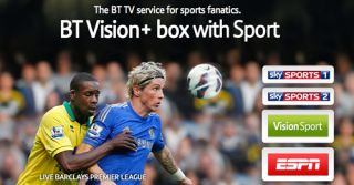 BT buys ESPN TV channels including live sports packages for