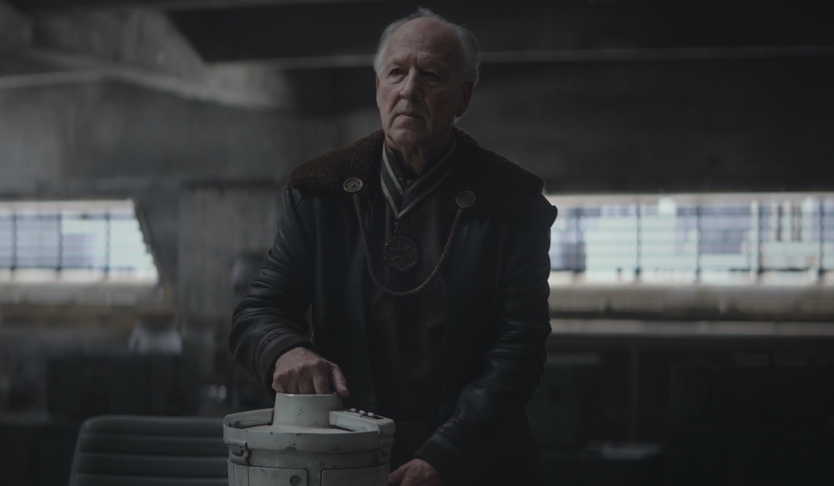the mandalorian the client werner herzog