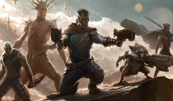 Guardians of the Galaxy Comic-Con Concept Art