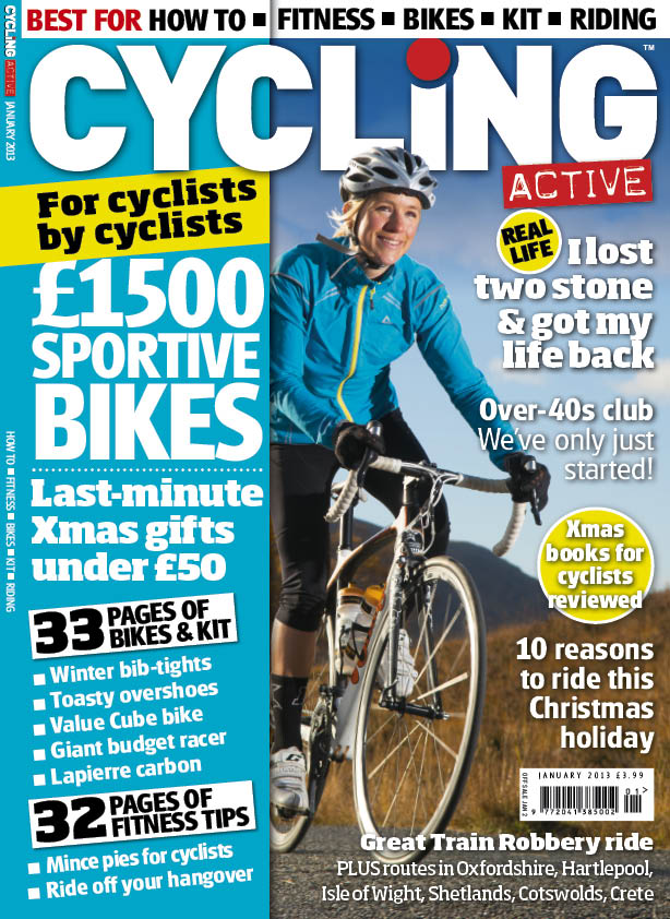 Cycling Active January 2013 issue