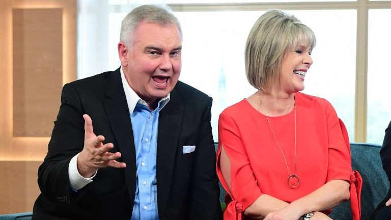 This Morning Host Eamonn Holmes and Ruth Langsford attend the launch of This Morning Live at The London Television Centre, London