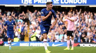 Mason Mount Leicester goal