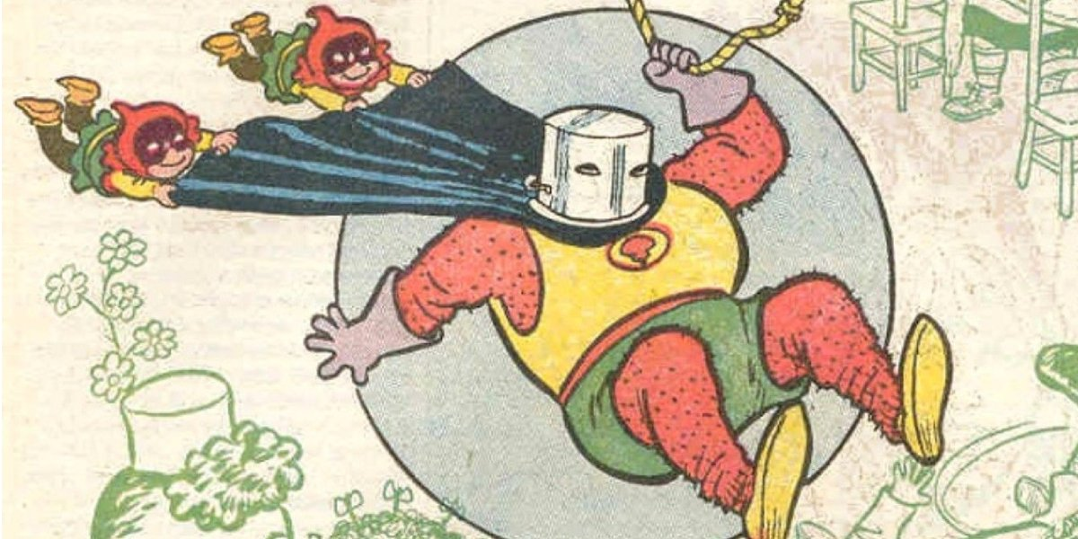 The original Red Tornado and the Cyclone Kids