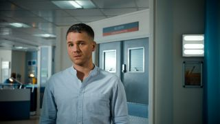 David Ames as Dominic Copeland in Holby City which is being axed in 2022.