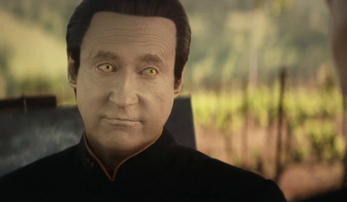 Brent Spiner as Data Sta Trek: Picard