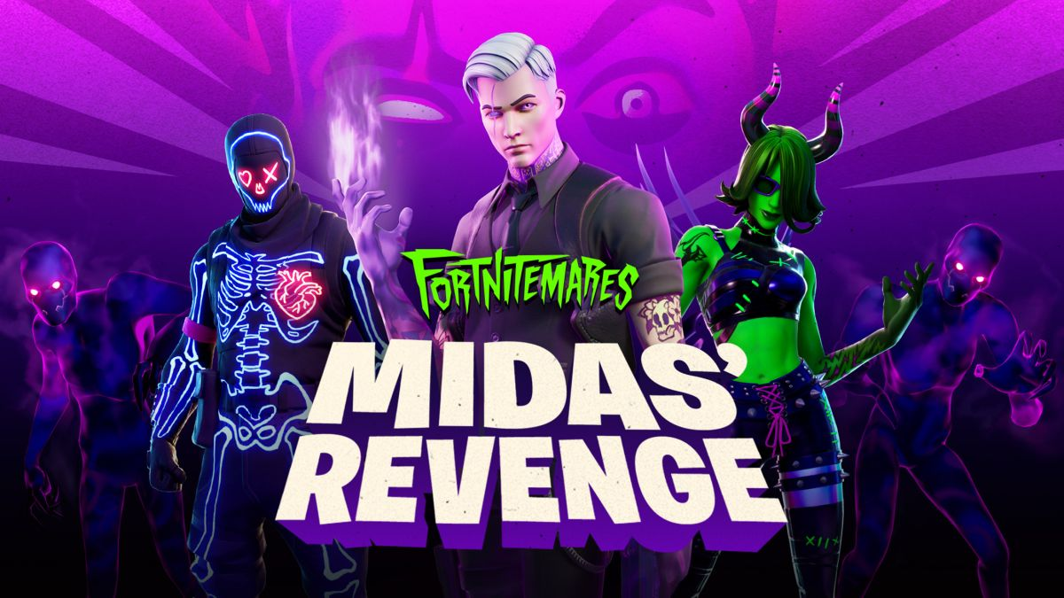 Fortnitemares 2020 brings back Midas and introduces new challenges - GamesRadar+