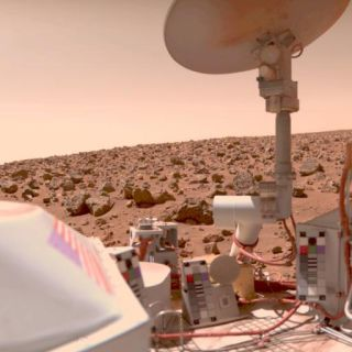 Mars Microbes Could Survive with Natural Antifreeze