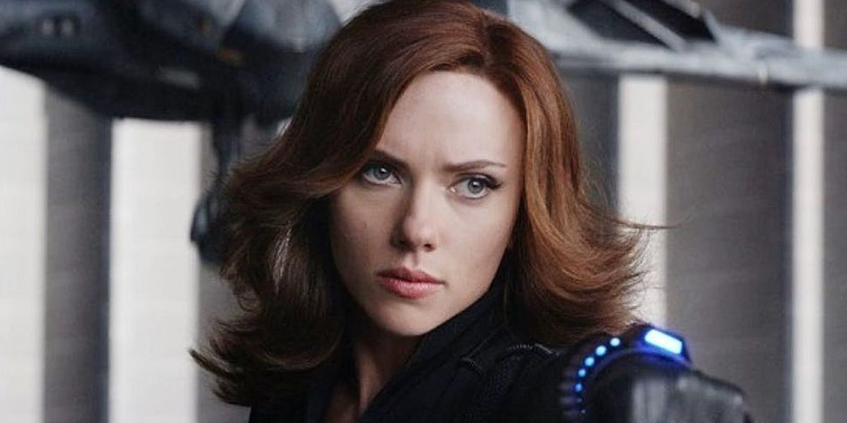 Scarlett Johansson as Natasha Romanoff/Black Widow in Captain America: Civil War (2016)