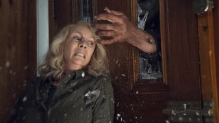 An image from upcoming movie Halloween