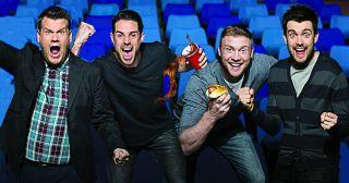 TV's rowdiest sports quiz returns, with TV's loudest host, James Corden, in the chair.