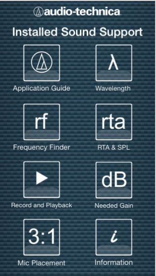 Audio-Technica Offers Free Installed Sound Support App