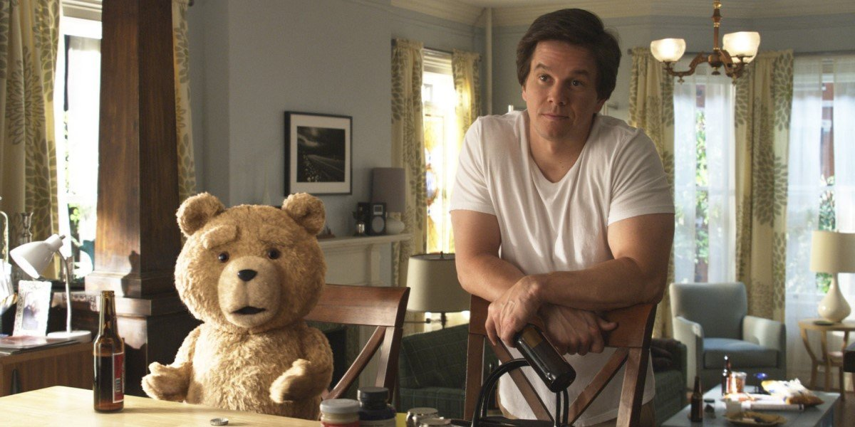 mark wahlberg and bear in ted