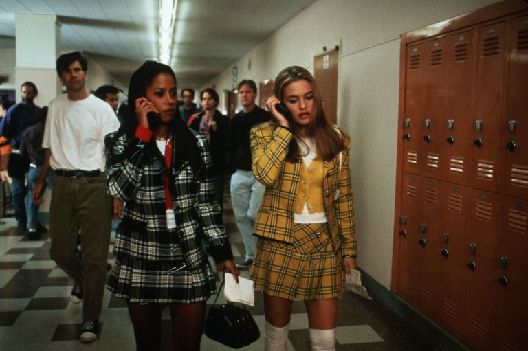 "Clueless"" (1995) Stacey Dash as Dionne and Alicia Silverstone as Cher."