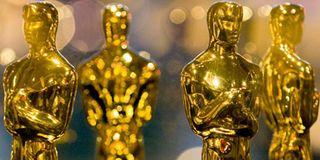 Academy Award trophies