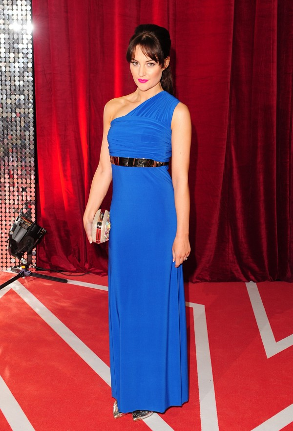 Coronation Street actress Paula Lane at an awards show