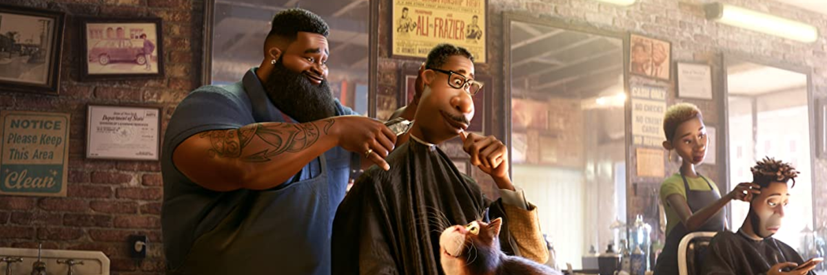 The barber scene from Soul