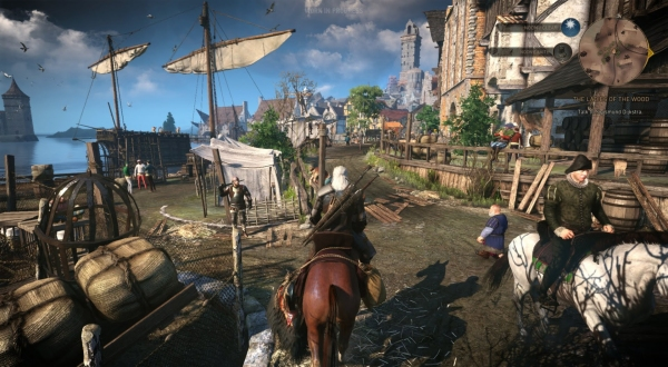 witcher 3 ps4 and xbox one framerate and resolution revealed. Black Bedroom Furniture Sets. Home Design Ideas