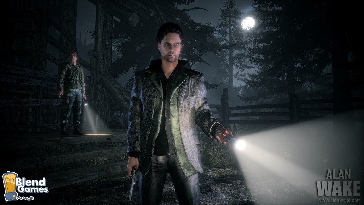 Alan Wake Screenshots Are All About The Flashlight #11187