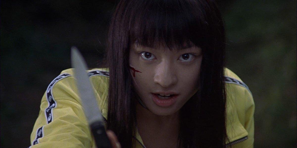 Chiaki Kuriyama in Battle Royale