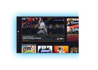 Sling TV new UX homescreen