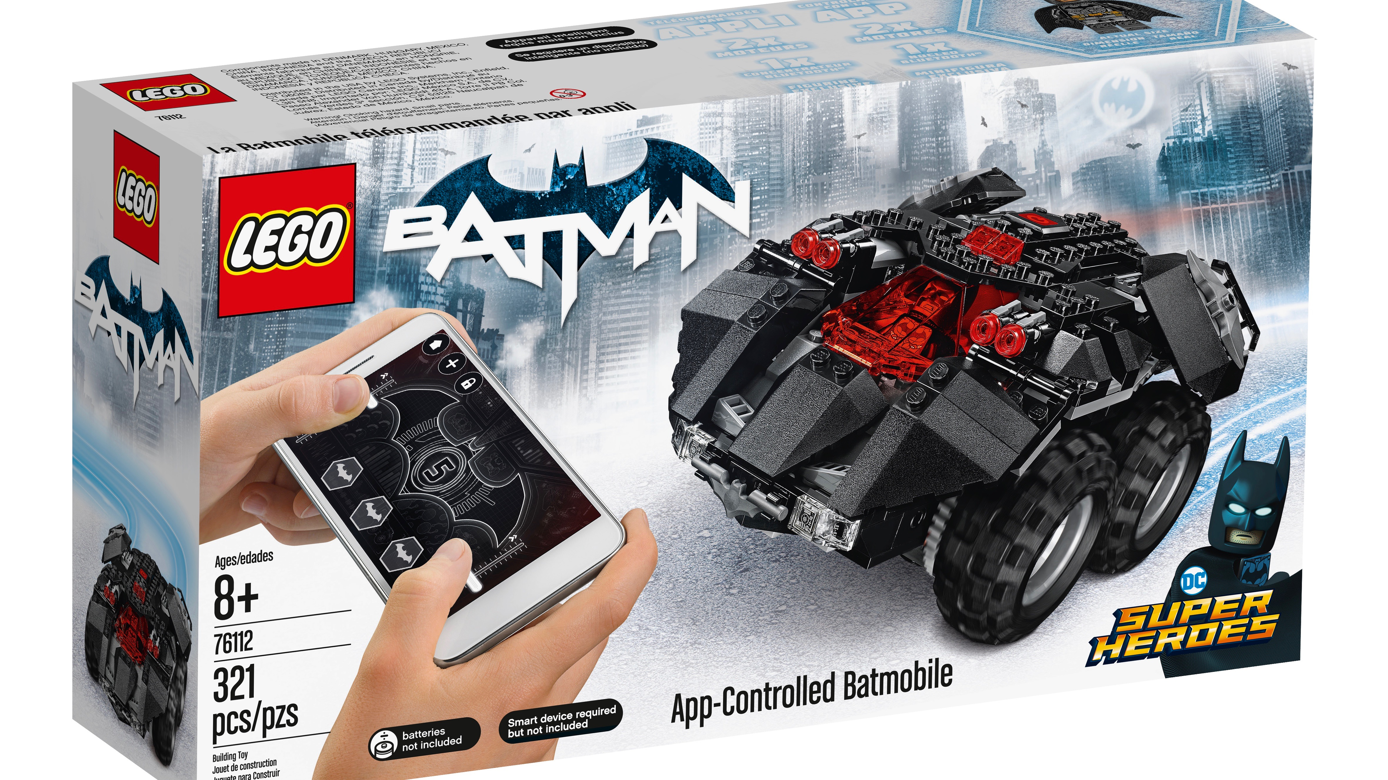 Legos Launching A Buildable App Controlled Batmobile This August R C Switch 3 For Radio Control Applications Techradar