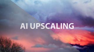 AI upscaling