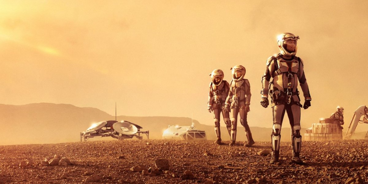 The cast of National Geographic's Mars