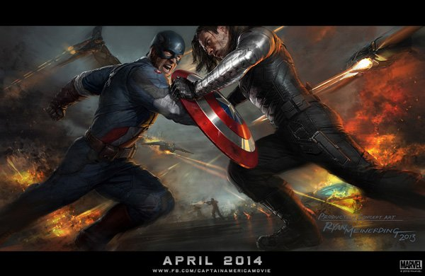 Captain America: The Winter Soldier Concept Art 1