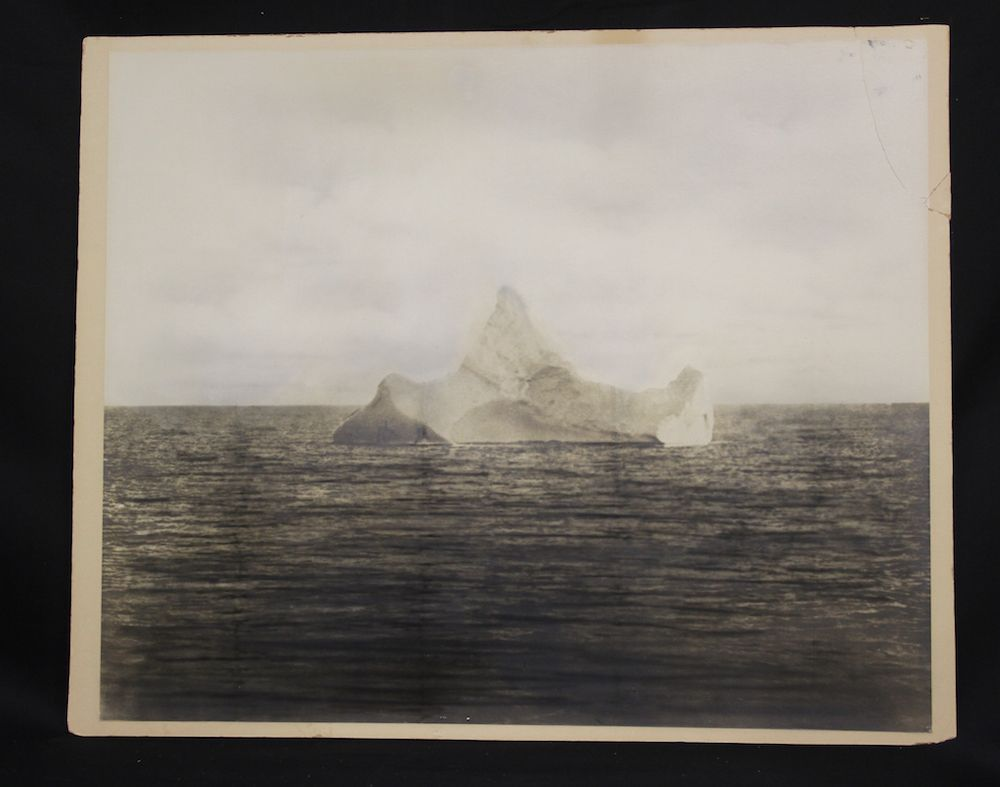 Photo Of Iceberg That Sank Titanic For Sale Is It Real Live