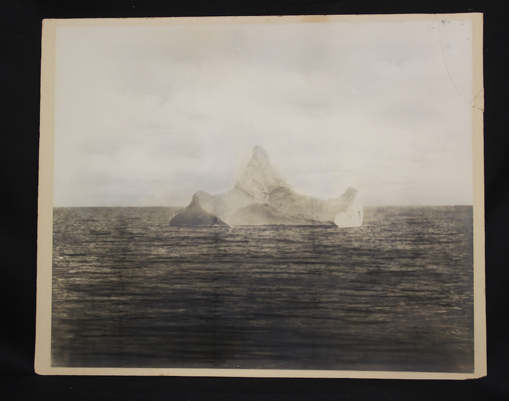 TITANIC SINKING DISASTER ICEBERG HISTORICAL 1912  PHOTO 4 X 7 PICTURE