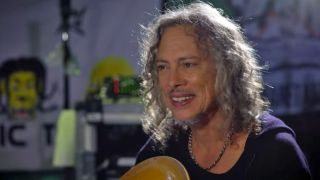 A picture of Kirk Hammett