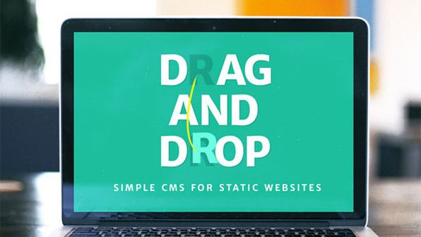 Construct your perfect website by dragging and dropping