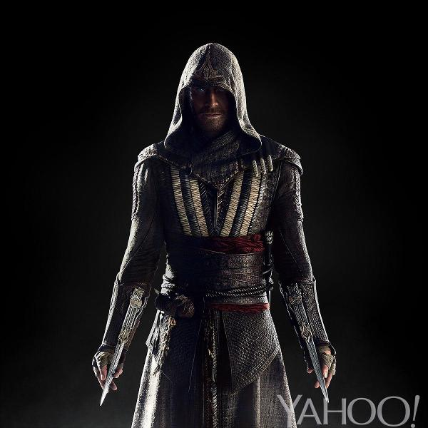 Michael Fassbender Assassin's Creed first look
