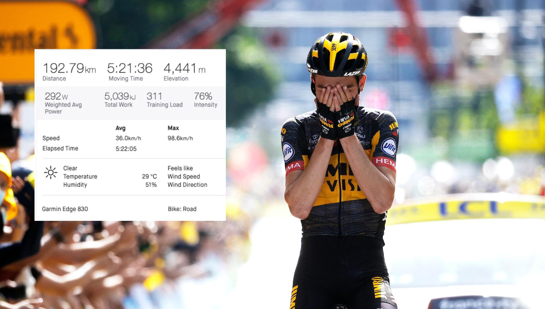 Sepp Kuss wins stage 15 of the Tour de France