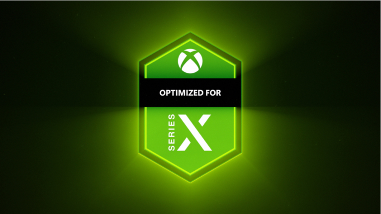 Optimised for Series X badge