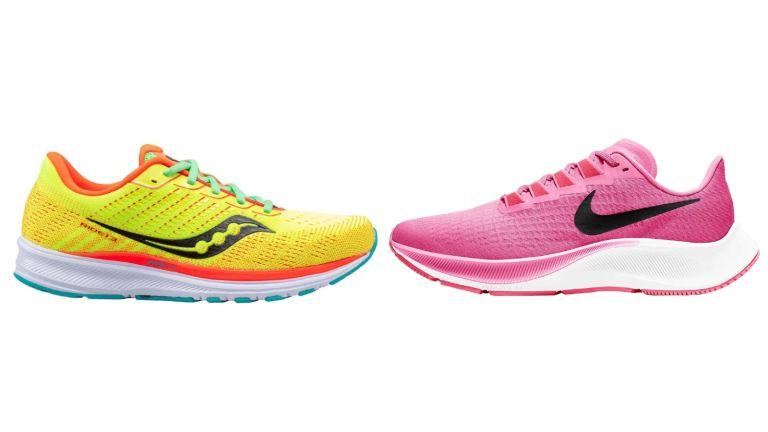 Saucony Ride 13 vs Nike Air Zoom Pegasus 37