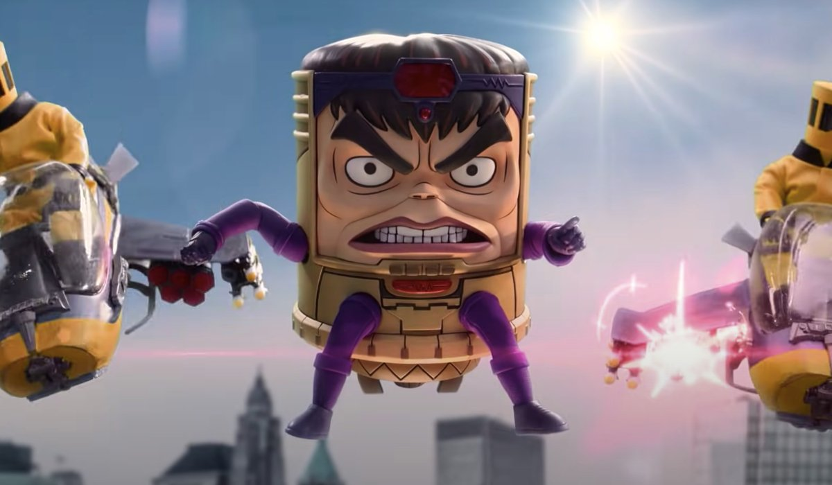 M.O.D.O.K. sends his minions into battle in Marvel's M.O.D.O.K.