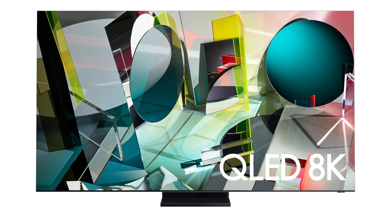 Samsung Q950TS against white background