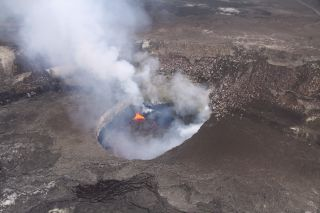 Halemaumau crater, Kilauea volcano