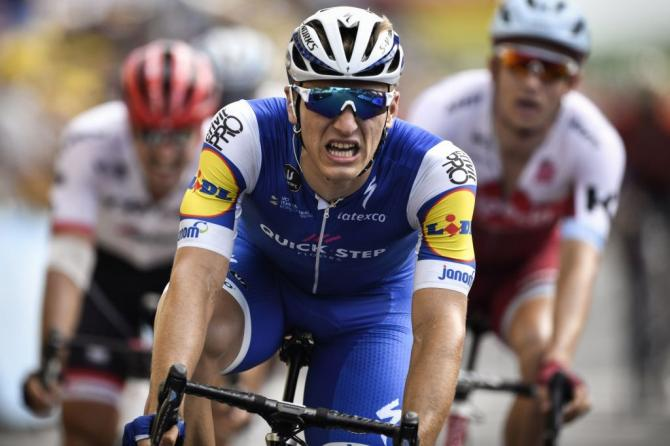 Marcel Kittel wins stage 7 of the 2017 Tour de France.
