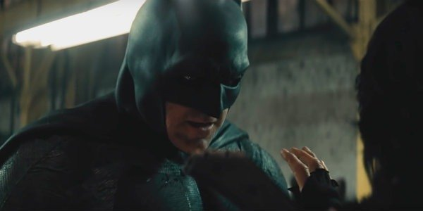 Ben Affleck Batman v superman warehouse fight