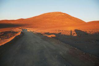 the cerro Armazones, telescope, e-elt