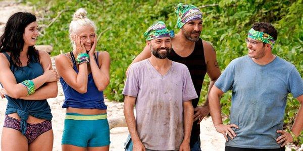 Survivor: Edge of Extinction cast Lauren Kelley Wentworth David Wright Wardog Rick Devens CBS