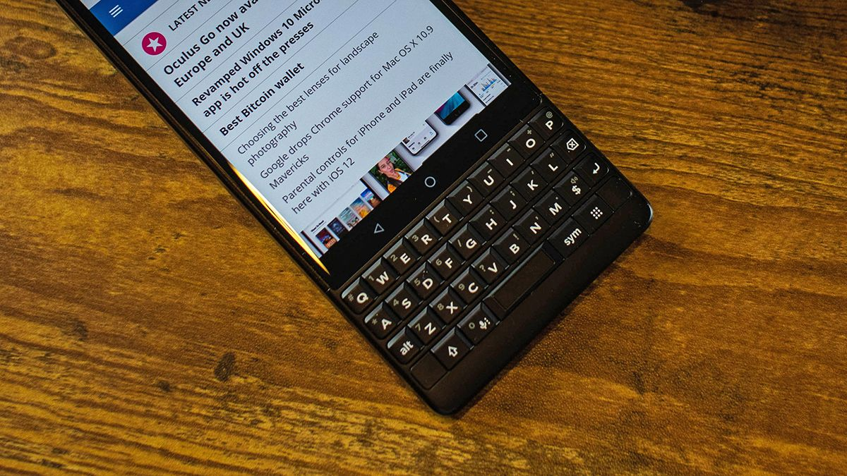 Don't expect a 5G BlackBerry phone anytime soon