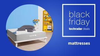 Black Friday mattress deals: Nectar mattress on a frame in a bedroom